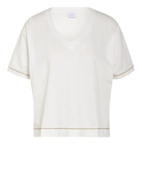 FTC CASHMERE T-Shirt mit Glitzergarn