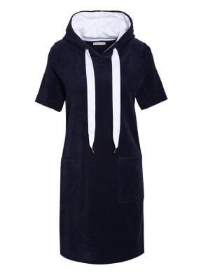 lilienfels Hoodie-Kleid mit Galonstreifen