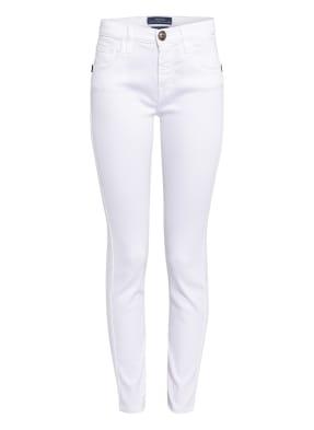 JACOB COHEN Slim Fit Jeans mit Schmucksteinbesatz