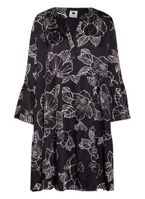 floer Kleid mit Rüschenbesatz