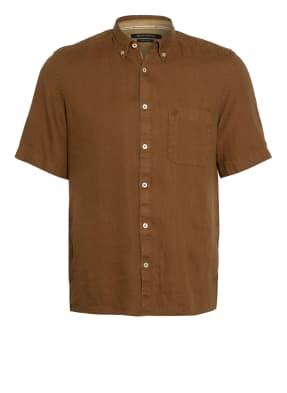 Marc O'Polo Kurzarm-Hemd Regular Fit aus Leinen