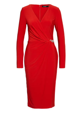 LAUREN RALPH LAUREN Kleid KINA in Wickeloptik