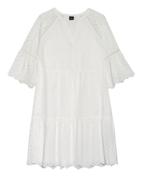 s.Oliver BLACK LABEL Kleid mit 3/4-Arm aus Lochspitze