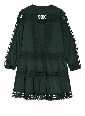 s.Oliver BLACK LABEL Kleid mit Lochspitze