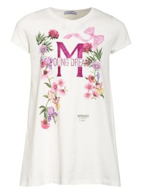 MONNALISA T-Shirt mit Schmucksteinbesatz