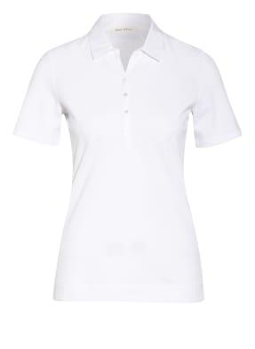 Marc O'Polo Piqué-Poloshirt im Materialmix