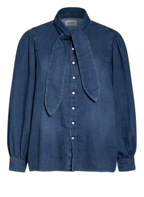 ba&sh Jeans-Schluppenbluse