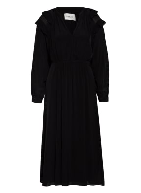 ba&sh Kleid ULLA mit Rüschenbesatz