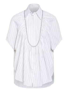 BRUNELLO CUCINELLI Oversized-Hemdbluse mit Schmucksteinbesatz