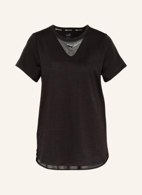 PUMA T-Shirt TRAIN mit Mesh-Einsätzen