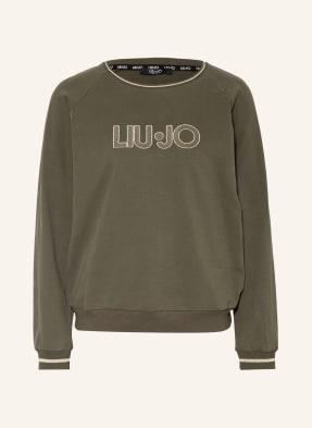 LIU JO Sweatshirt im Materialmix