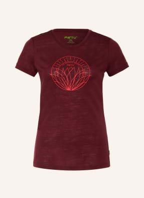 me°ru' T-Shirt RJUKAN mit Merinowolle
