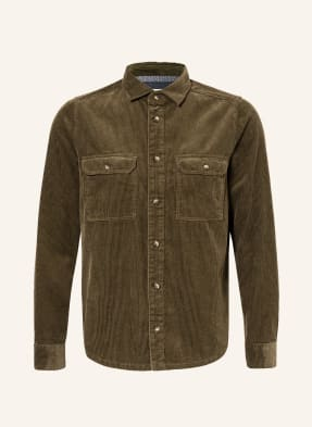 OLYMP Cord-Overshirt Level Five Body Fit
