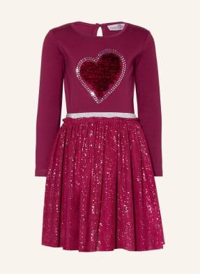 happy girls Kleid mit Paillettenbesatz