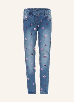 s.Oliver RED Jeans Skinny Fit mit Stickereien