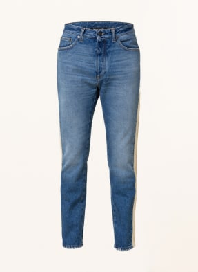 Palm Angels Jeans Extra Slim Fit mit Galonstreifen