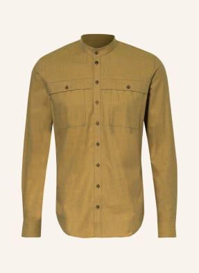 Q1 Manufaktur Hemd Slim Fit mit Stehkragen
