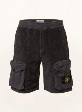STONE ISLAND Teddyfell-Shorts