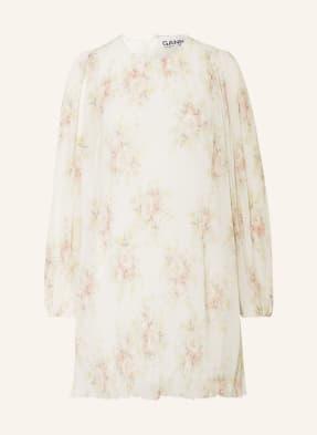 GANNI Kleid mit Plissees