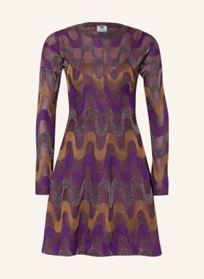 M MISSONI Kleid mit Glitzergarn