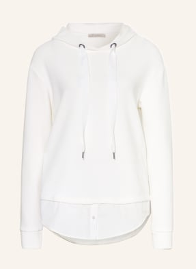 lilienfels Hoodie im Materialmix