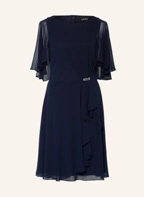 LAUREN RALPH LAUREN Kleid mit Schmucksteinbesatz