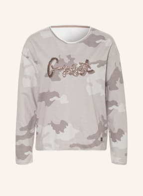 KEY LARGO Sweatshirt mit Paillettenbesatz