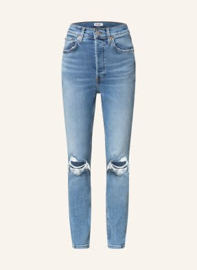 RE/DONE Skinny Jeans 90S HIGH RISE ANKLE CROP