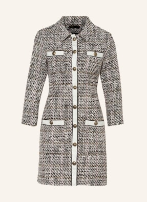 maje Tweed-Kleid RENATOLA mit 3/4-Arm
