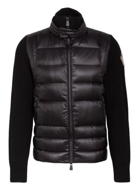 MONCLER GRENOBLE Strickjacke im Materialmix