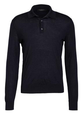 Ermenegildo Zegna Cashmere-Poloshirt mit Seide
