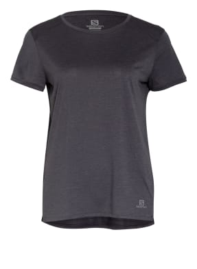 SALOMON T-Shirt OUTLINE SUMMER mit Mesh-Einsatz
