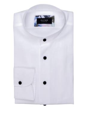 OLYMP SIGNATURE Leinenhemd tailored fit mit Stehkragen