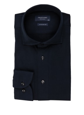 PROFUOMO Jerseyhemd THE KNITTED SHIRT Slim Fit