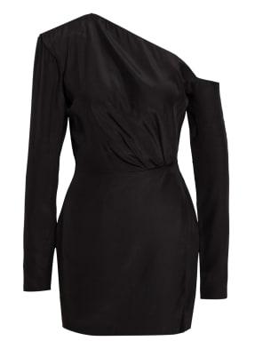 GAUGE81 One-Shoulder-Kleid MASUDA aus Seide