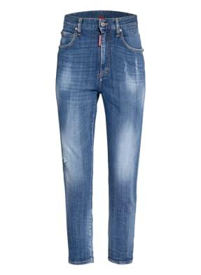 DSQUARED2 7/8-Jeans mit Schmucksteinbesatz
