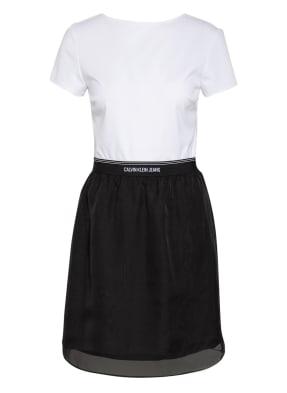 Calvin Klein Jeans Kleid im Materialmix