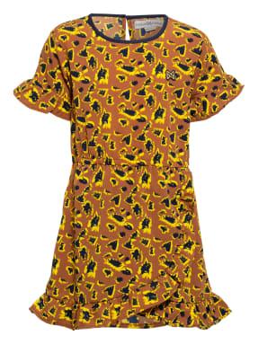 Koko Noko Kleid in Wickeloptik und Rüschenbesatz