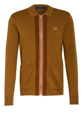FRED PERRY Strickjacke