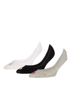POLO RALPH LAUREN 3er-Pack Sneakersocken