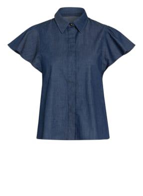 MAX & Co. Bluse in Jeansoptik