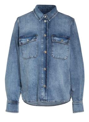 SET Hemdbluse aus Jeans