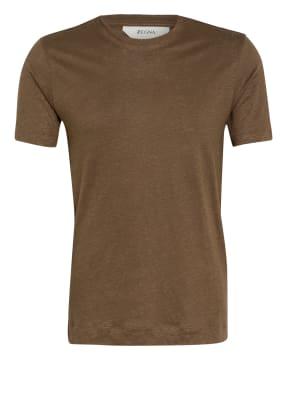 ZZegna T-Shirt aus Leinen
