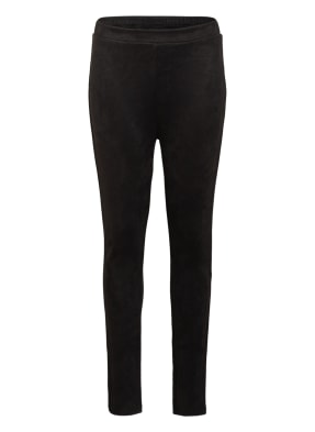 PETIT BY SOFIE SCHNOOR Leggings TERESE in Veloursleder-Optik