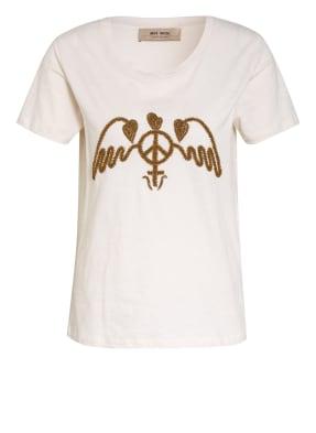MOS MOSH T-Shirt ROYAL mit Schmuckperlenbesatz