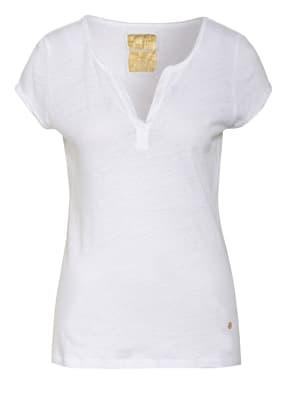 MOS MOSH T-Shirt TROY mit Leinen