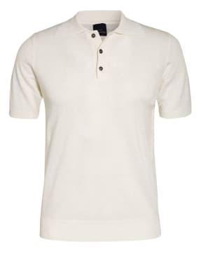 EDUARD DRESSLER Strick-Poloshirt mit Leinen