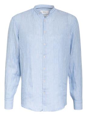 BRAX Leinenhemd LARS Modern Fit mit Stehkragen