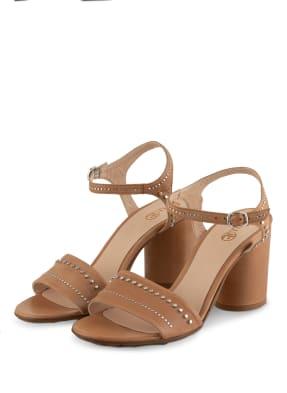 Fru.it Sandaletten mit Nietenbesatz