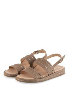 Fru.it Sandalen mit Nietenbesatz